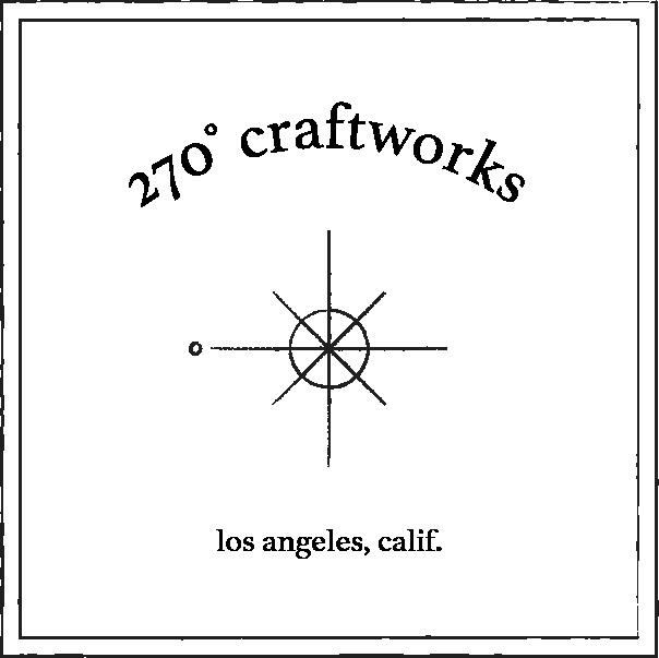 270 craftworks logo black